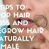 7 tips to stop hair loss and regrow hair naturally female