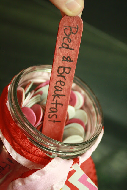 Crafty Crafty: Modified Date Night Jar