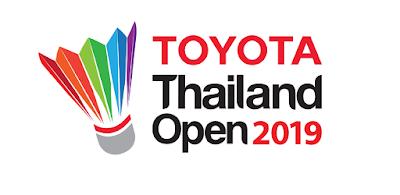 Jadwal Toyota Thailand Open 2019