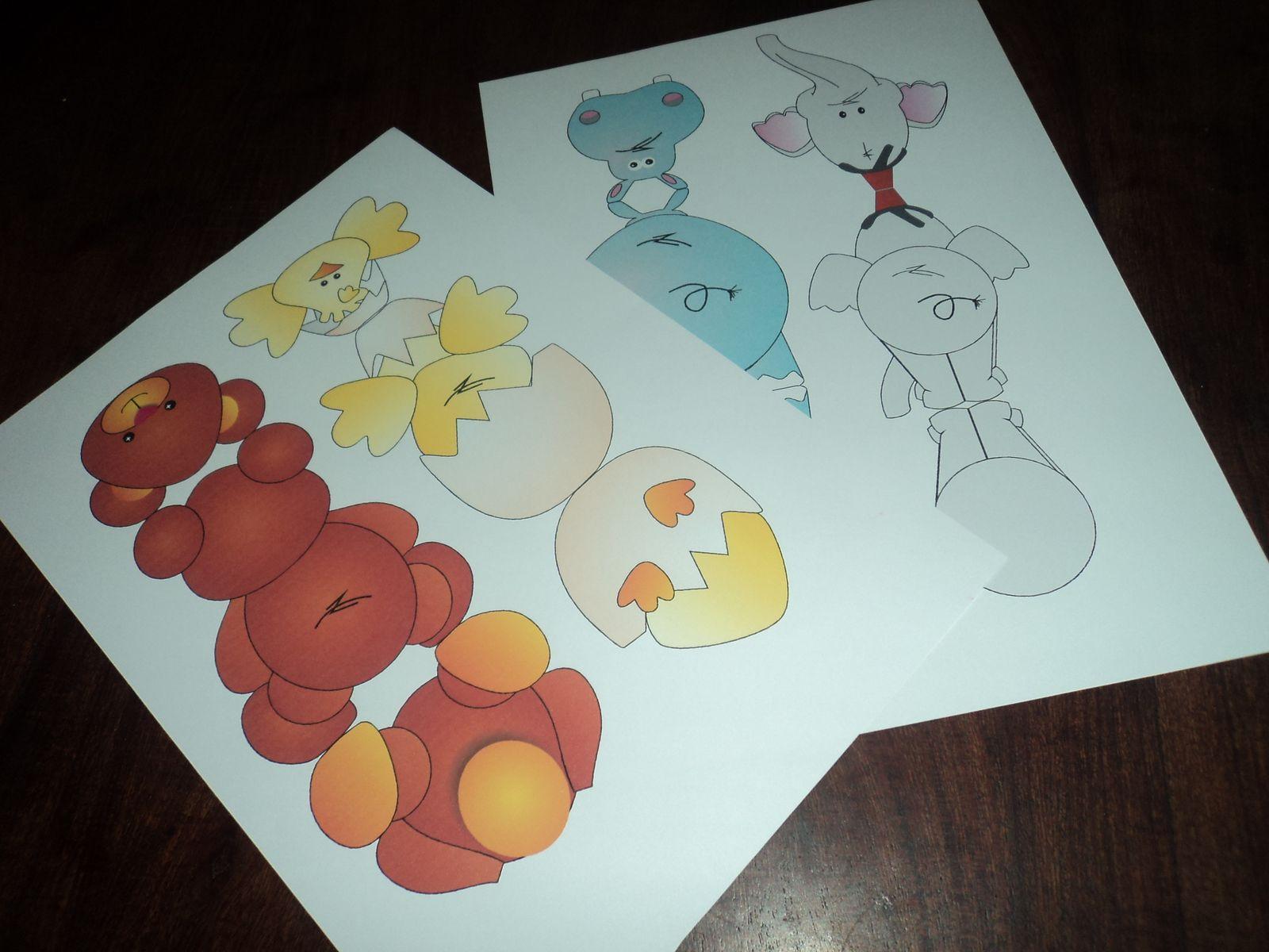Tutorial De Artesanías Tarjetas Para Imprimir O Para Colorear