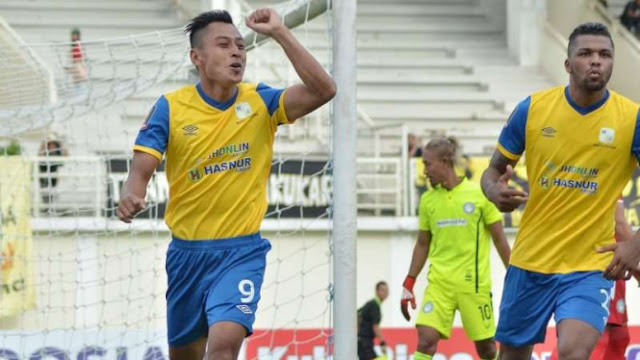 Kalahkan Sriwijaya FC, Barito Kokoh Dipuncak Klasemen Liga 1