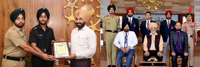 Chandigarh University students commissioned as officers in Indian Armed Forces