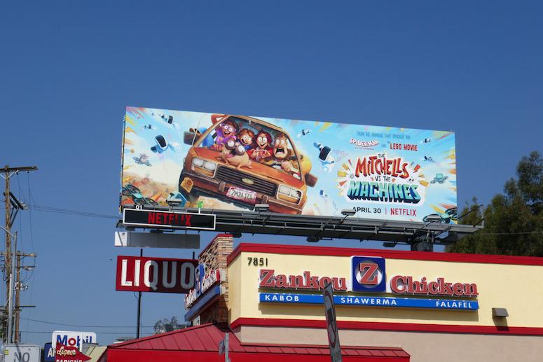 Mitchells vs the Machines billboard