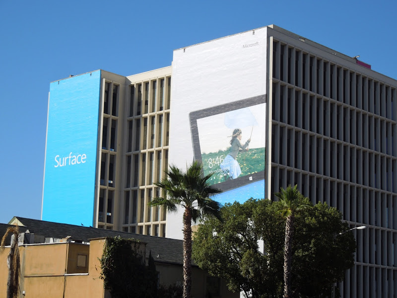 Giant Surface billboards Sunset Strip