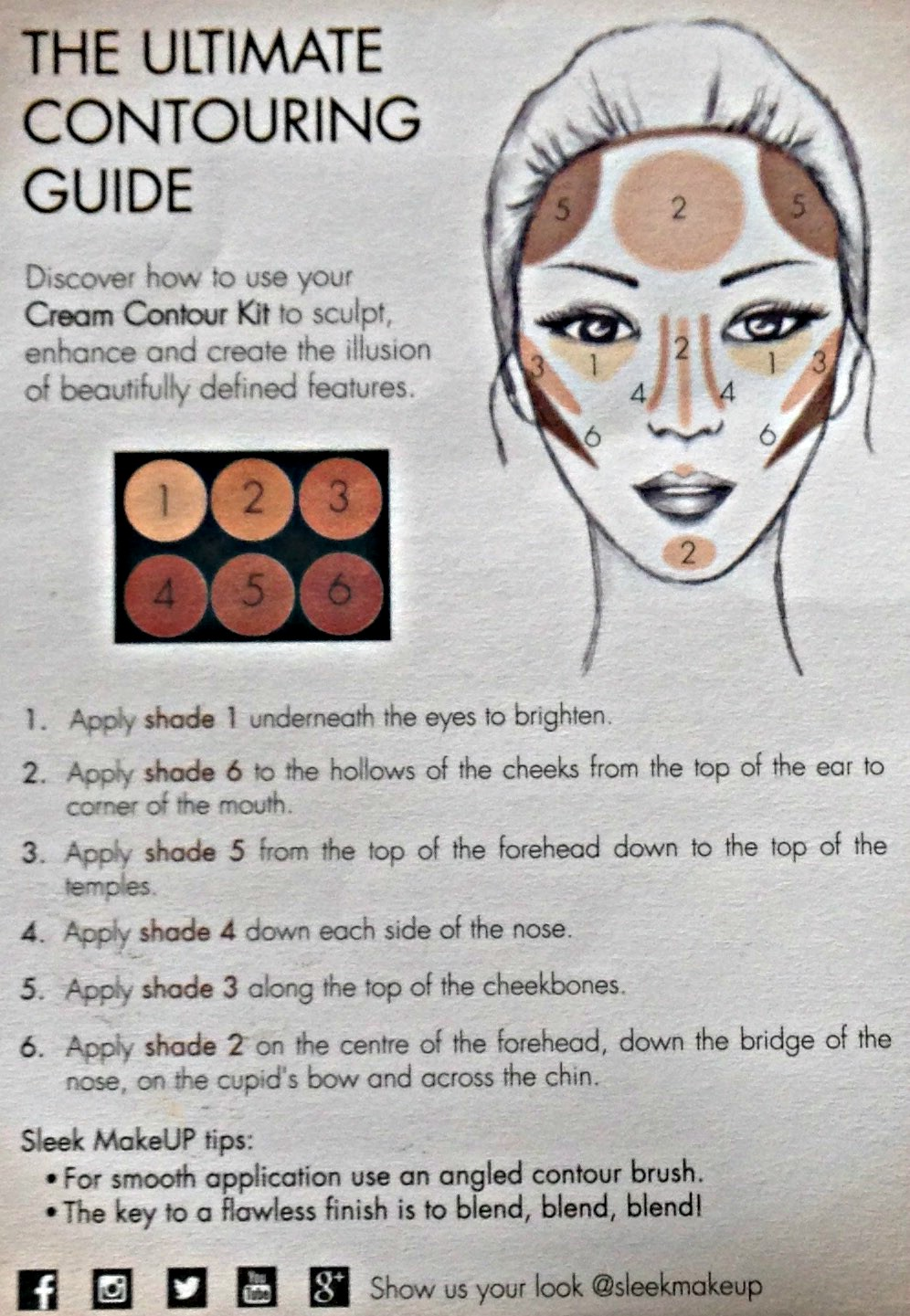It Says On The Sheet To Use An Angled Contour Brush I Do Own The Real  Techniques Contour Brush But I Find It A Little Too Large As My Face Is  Quite
