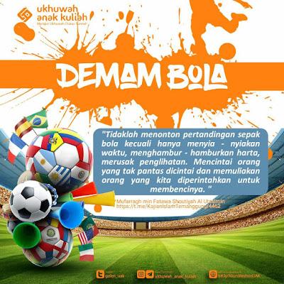 Hukum Seputar Sepak Bola : Kaos, Nonton, Supporter Sepak Bola