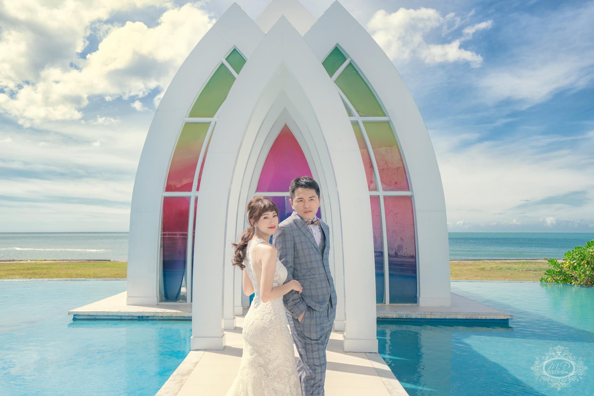 淡水莊園婚紗基地 浪漫風格 逆光婚紗 唯美風 台北婚紗推薦 韓系小清新婚紗