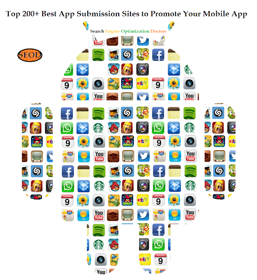 Top 200+ Best App Submission Sites to Promote Your Mobile App