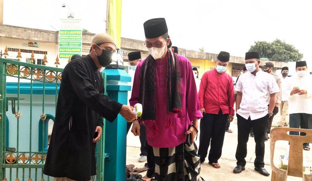 Wakil Walikota Batam Pastikan Prokes diterapkan Di Masjid