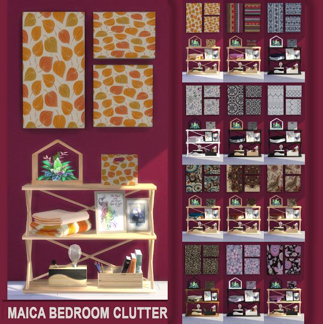 Clutter Dormitorio Maica 1