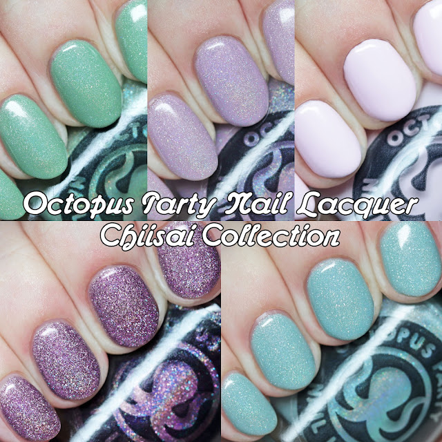 Octopus Party Nail Lacquer Chiisai Collection