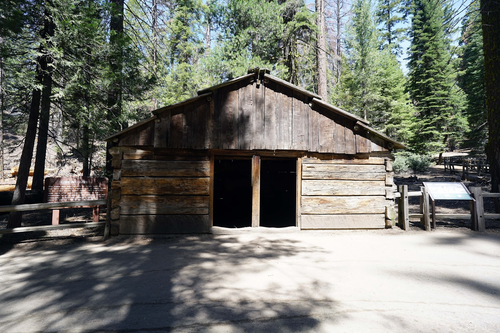 with cabin bradley houses in log img handmade noah national cabins sequoia park