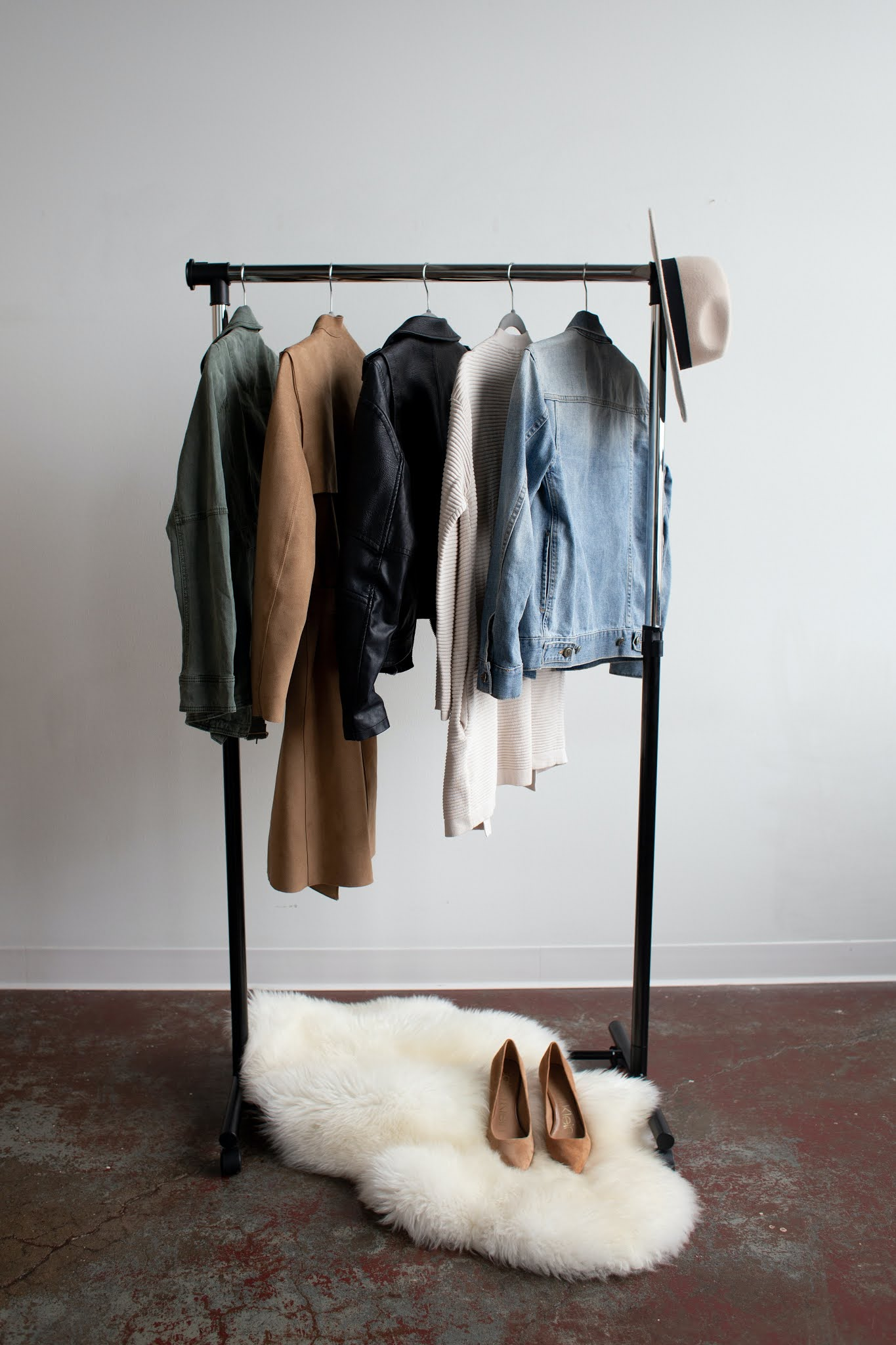 Closet Of Clothes-Now You Can Do A Capsule Wardrobe[Freebie]