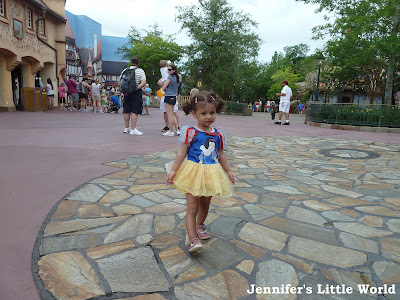 Little girl in Fantasyland, Walt Disney World, Florida