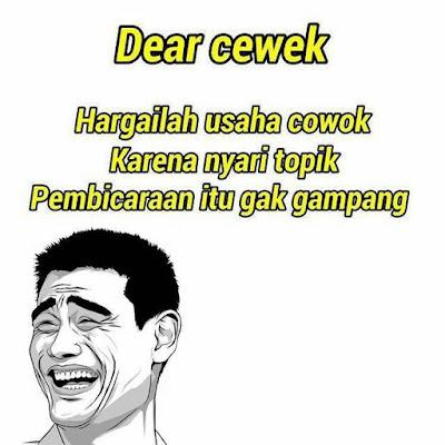 10 Meme 'Dear Cewek' Ini Nyindir Abis Sekaligus Bikin Ngakak Berjamaah