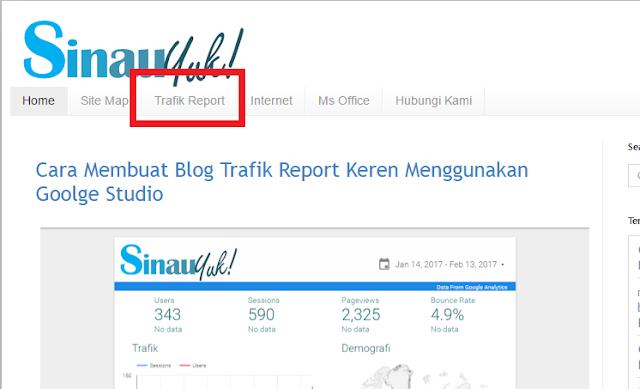 Cara Menambahkan Trafik Report Google Studio di Blog,google,google data studio,google studio,trafik report,traffict report,laporan pengunjung blog
