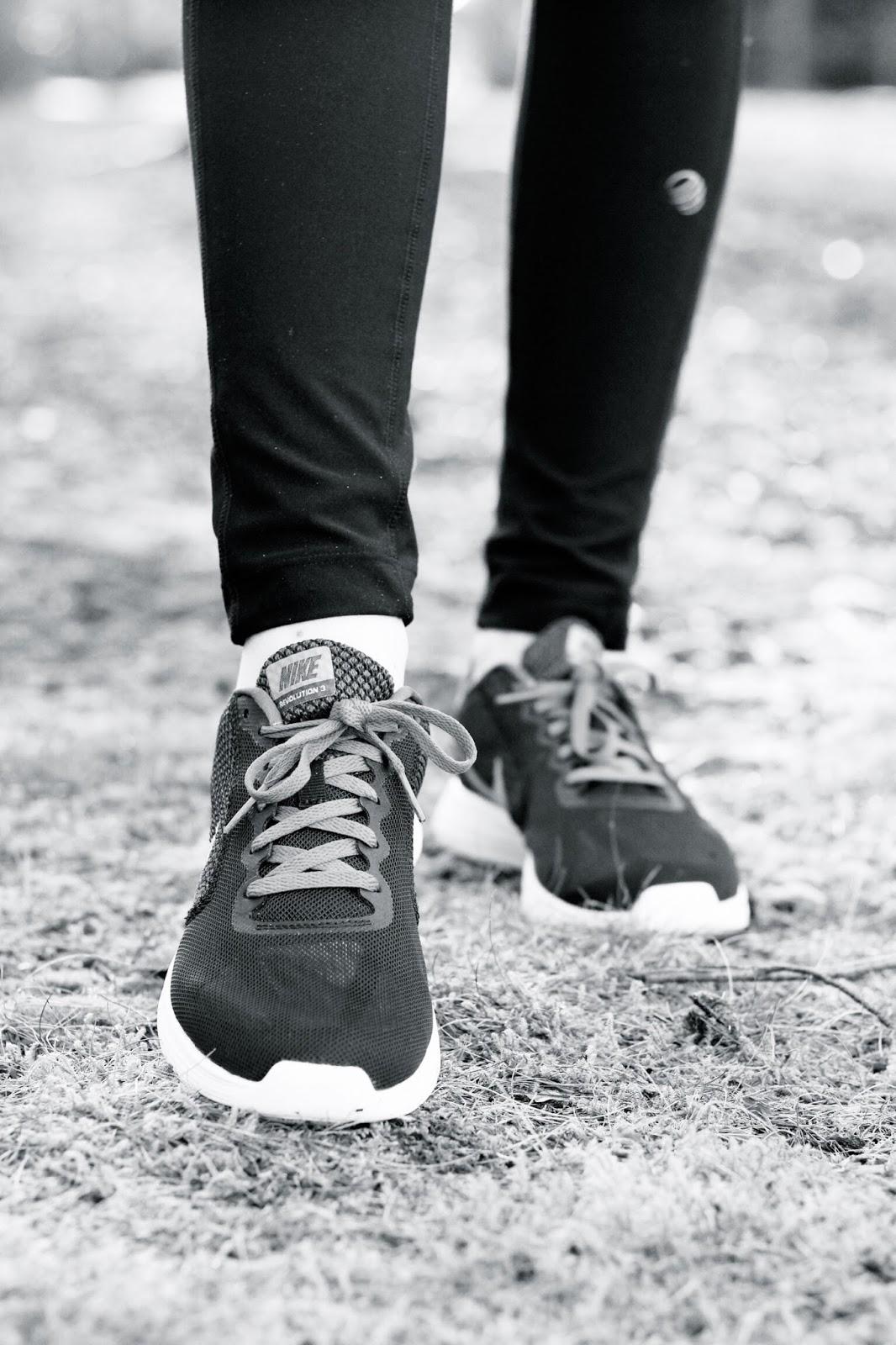 Nike Revolution purple women's trainers