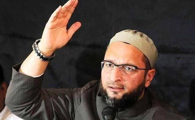 असदुद्दीन ओवैसी(Asaduddin Owaisi) के बड़ा बयान  कहा 300 सीट जीत के हिंदुस्तान (Hindustan) में मनमानी करेंगे तो नही चलेगा ऐसा।