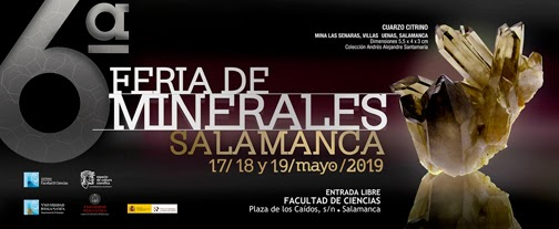 VI Feria de Minerales de Salamanca