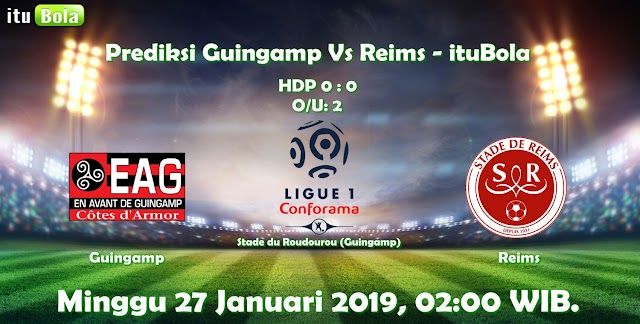 Prediksi Guingamp Vs Reims - ituBola