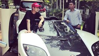Raffi Ahmad Bertemu Dirjen Pajak Bahas Mobil Mewah