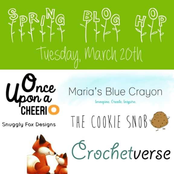Spring Blog Hop for Free Crochet Patterns!