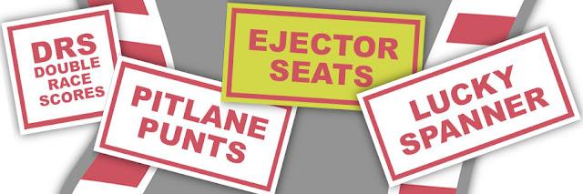 Adjustments - Ejector Seats