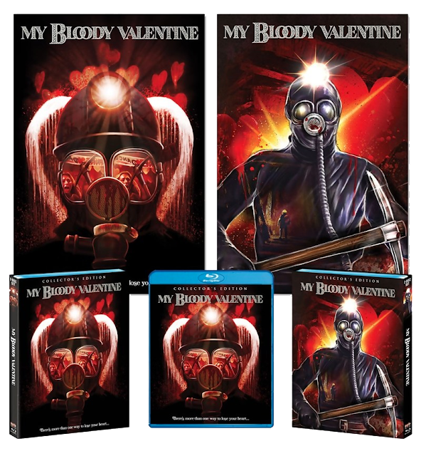 Here's what you get with Scream Factory's Deluxe Limited Edition Release of MY BLOODY VALENTINE!