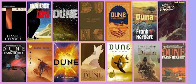 portadas del libro de ciencia ficción Dune, de Frank Herbert