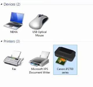 install printer ip2770 di windows 10
