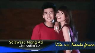 Lirik Lagu Selawase Nong Ati - Vita ft Nanda Feraro