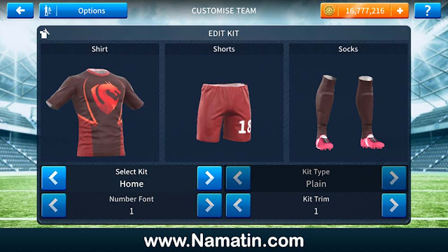 Jersey Dream League Soccer Futsal Keren