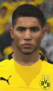 PES 2017 Faces Achraf Hakimi by WER