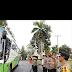 Kapolda Sumut Lepas 414 Personel Ke 7 Wilayah Satker Dalam Rangka Pemilu 2019
