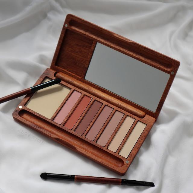 Makijaż w duchu zero waste — naturalna paleta cieni Alilla