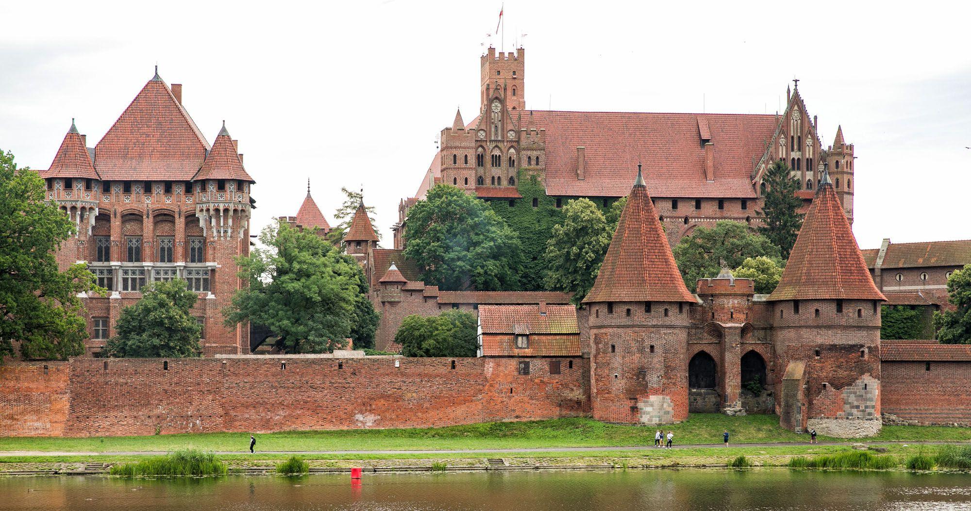 Malbork Castle terunik di dunia