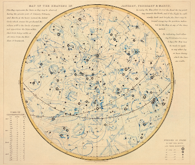 s.i. russel celestral map