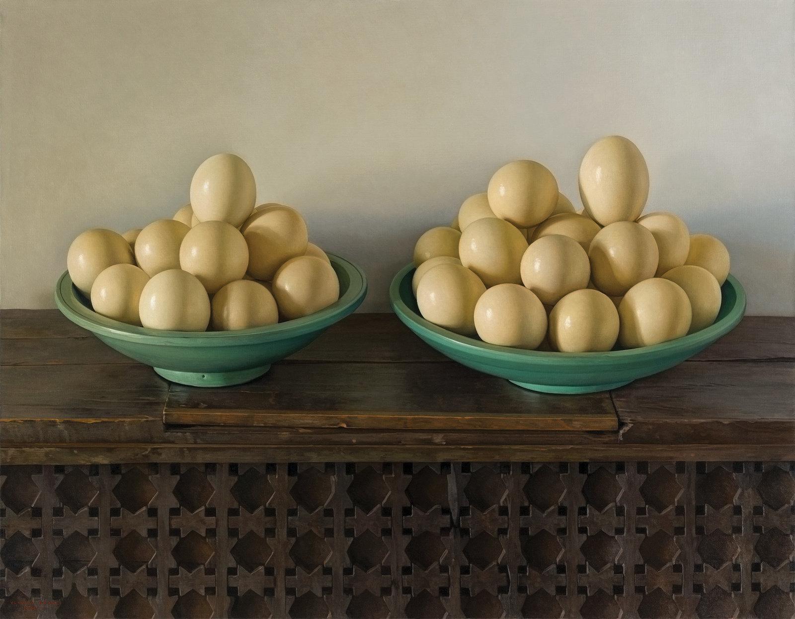 Claudio  ravo Camus Ostrich eggs