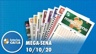 Video - Resultado da Mega-Sena 2307, Quina 5388, Lotofácil 2054 e mais 10/10/2020