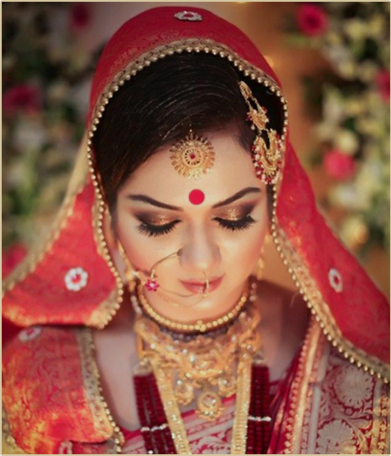 Indian Bridal Dress, Indian Bridal looks, Wedding Dress Ideas, Wedding Dresses, Indian Wedding Dress, wedding saree, Indian Wedding Saree, Kannada bridal dress, Kannada bridal wear and looks,