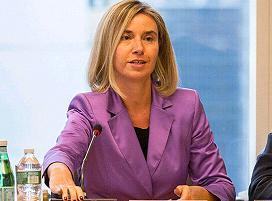 η Ύπατη Εκπρόσωπος  Φεντερίκα Μογκερίνι