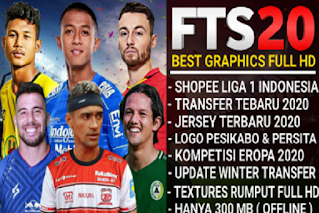 FTS 20 Shopee Liga 1 & Eropa 2020 V7