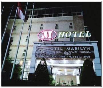 Marilyn hotel serpong pakulonan kota Tangerang Selatan Banten