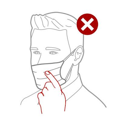 Aprenda a usar a máscara de proteção facial de forma correta