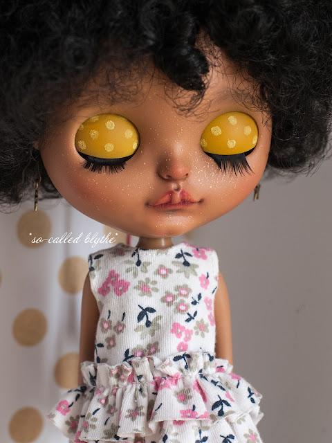 Kala OOAK custom doll lids
