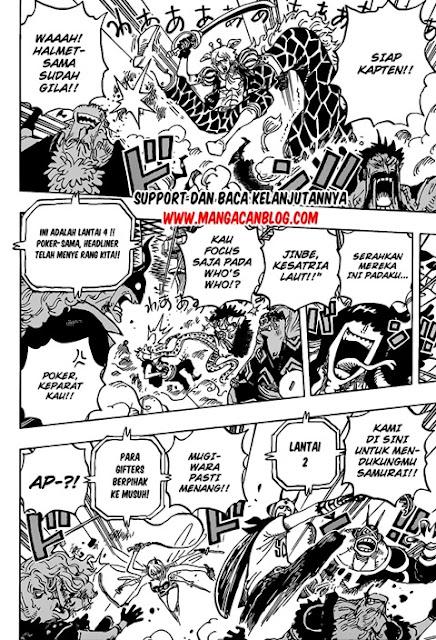Manga One Piece Chapter 1017 Bahasa Indonesia