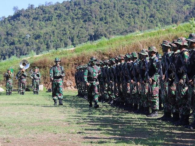 Kasdivif 2 Kostrad Buka Latihan Pertempuran Hutan di Gunung Lawu