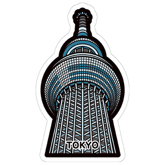 gotochi postcard Tokyo Sky Tree