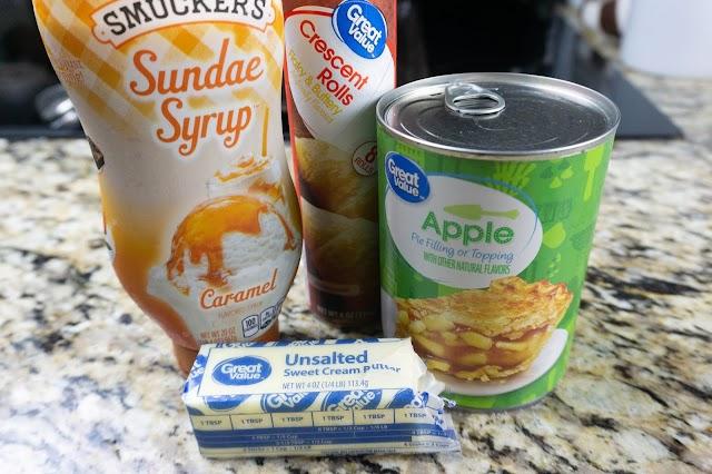 photo of recipe ingredients.