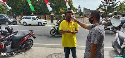 Penyerahan SK Partai Berkarya di NTB Terapkan Protokol Kesehatan